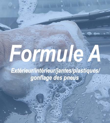 Formule A - 1 - Lavageauto.net