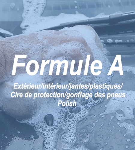 Formule A - 3 - Lavageauto.net